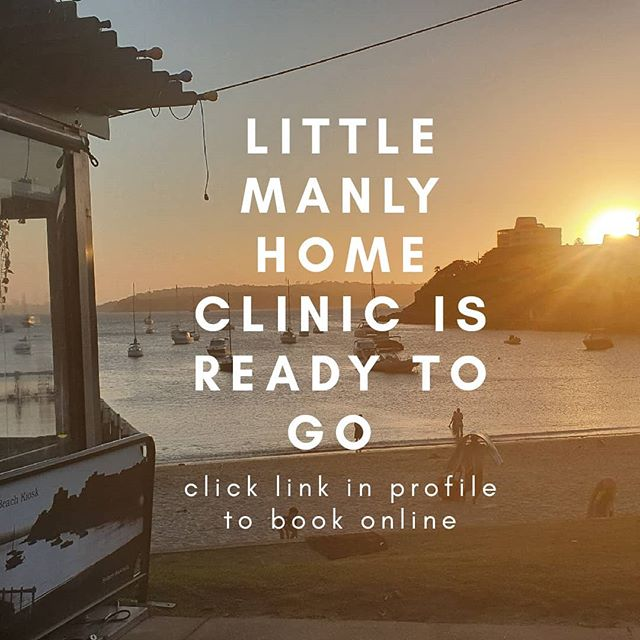 I'm excited to announce my little manly home massage clinic is set up and ready to go! Visit my website to book online www.philwhitemassage.com.au