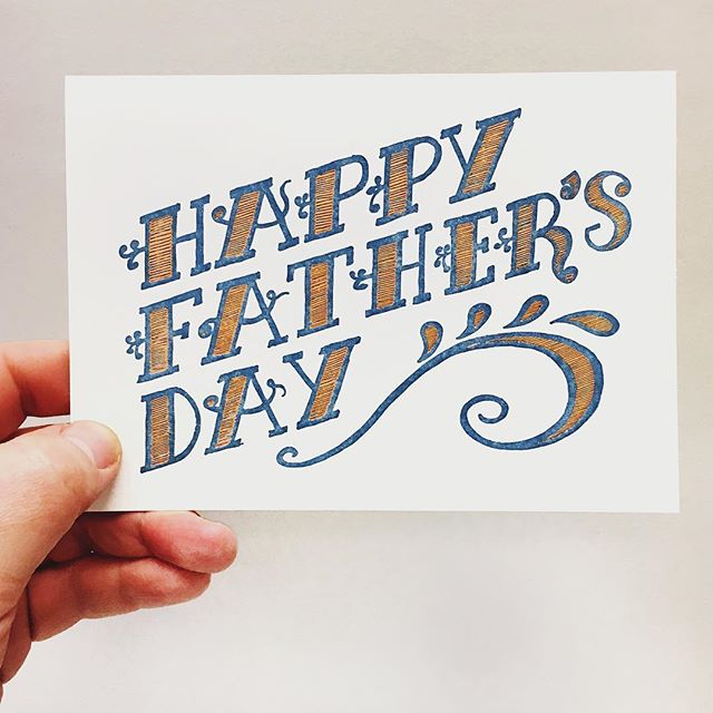 Happy Father's Day to all the dads! It's one of the hardest jobs out there (besides being Mom) but it is one with the most rewards! Enjoy your day and your families!