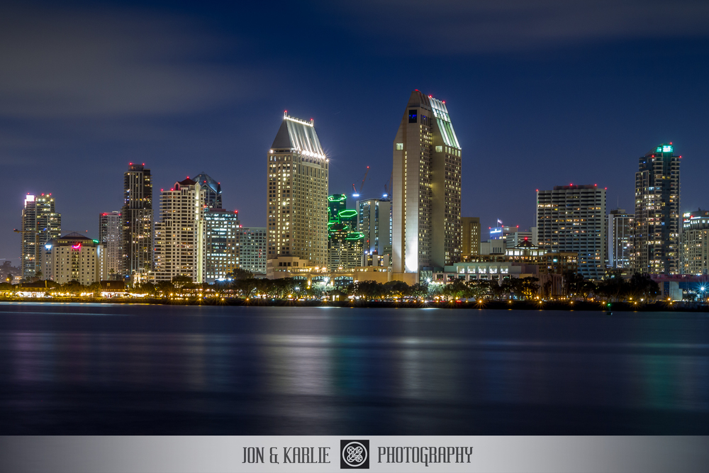 So The First Thing That Inspired Me When I Saw Hundreds Of Images Came Up Was San Diego Skylineat Night