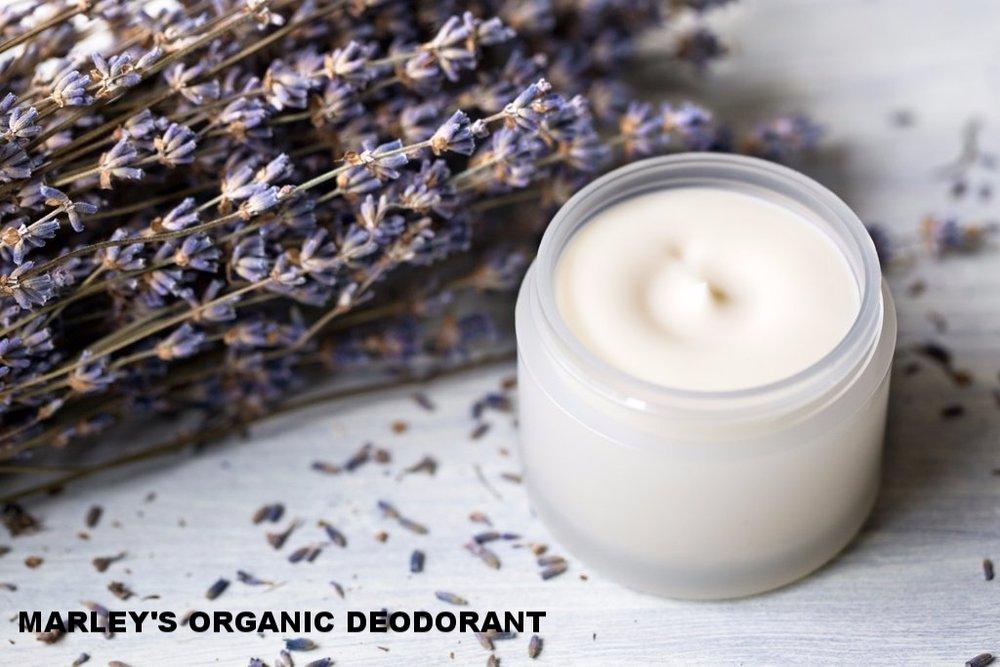Marley's Organic deodorant