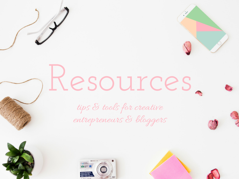 Resources Page - The Bloom Theory by Nakia Jones