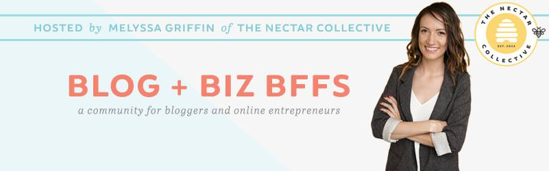Blog + Biz Bffs by Melyssa Griffin of The Nectar Collective - Nakia Jones Creative BY NAKIA JONES