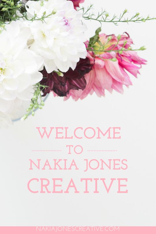 Welcome to The Bloom Theory - Nakia Jones Creative BY NAKIA JONES