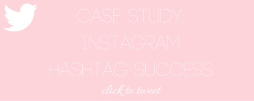 Case Study: Instagram Hashtag Success - Nakia Jones Creative by Nakia Jones - Click to tweet
