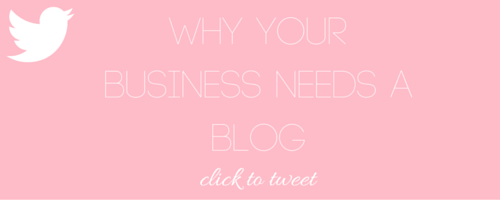 Why Your Business Needs A Blog - Nakia Jones Creative by Nakia Jones - Click to tweet