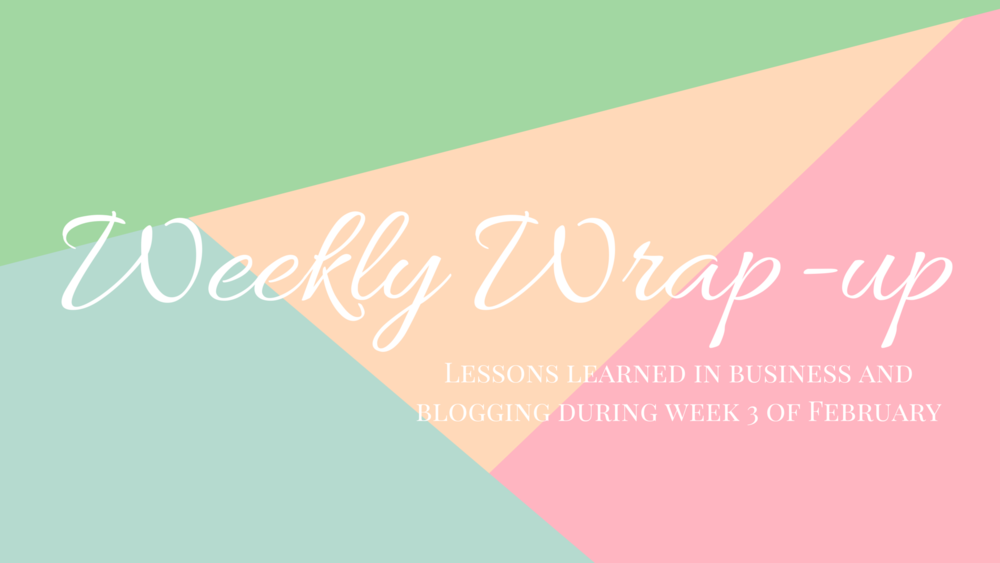 Weekly Wrap-Up: Taking Social Media To the Next Level