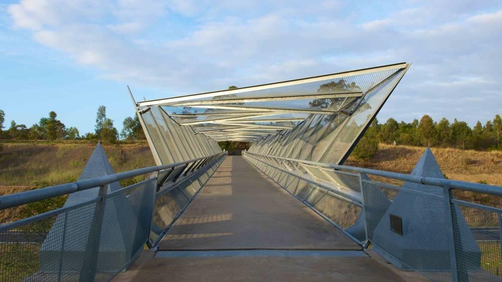 Cecil Hills bridge from path Studio Colpol.jpg