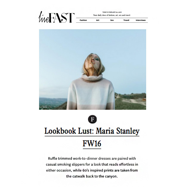 LOOK BOOK LUST BY LIVEFASTMAG.COM
