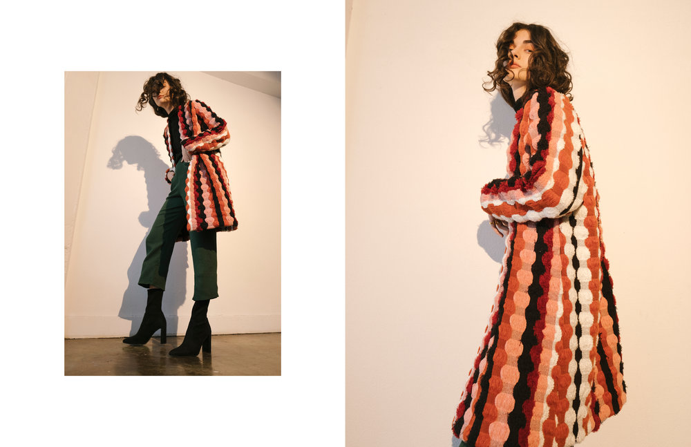 Maria Stanley Fall 2018 campaign women's designer collection