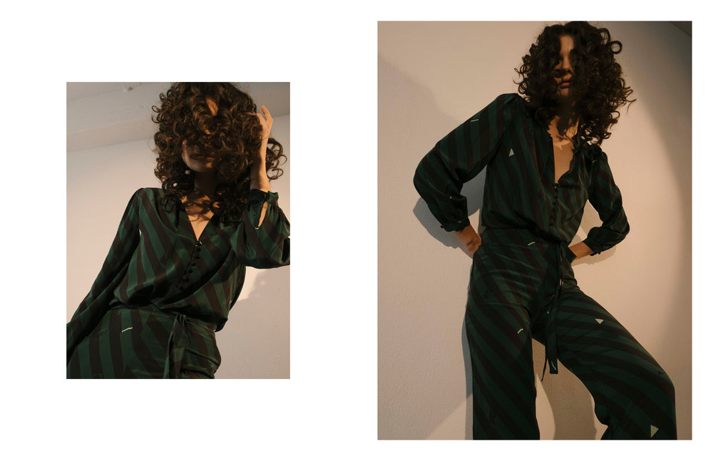 Maria Stanley Fall winter 2018 campaign women's los angeles fashion designer collection