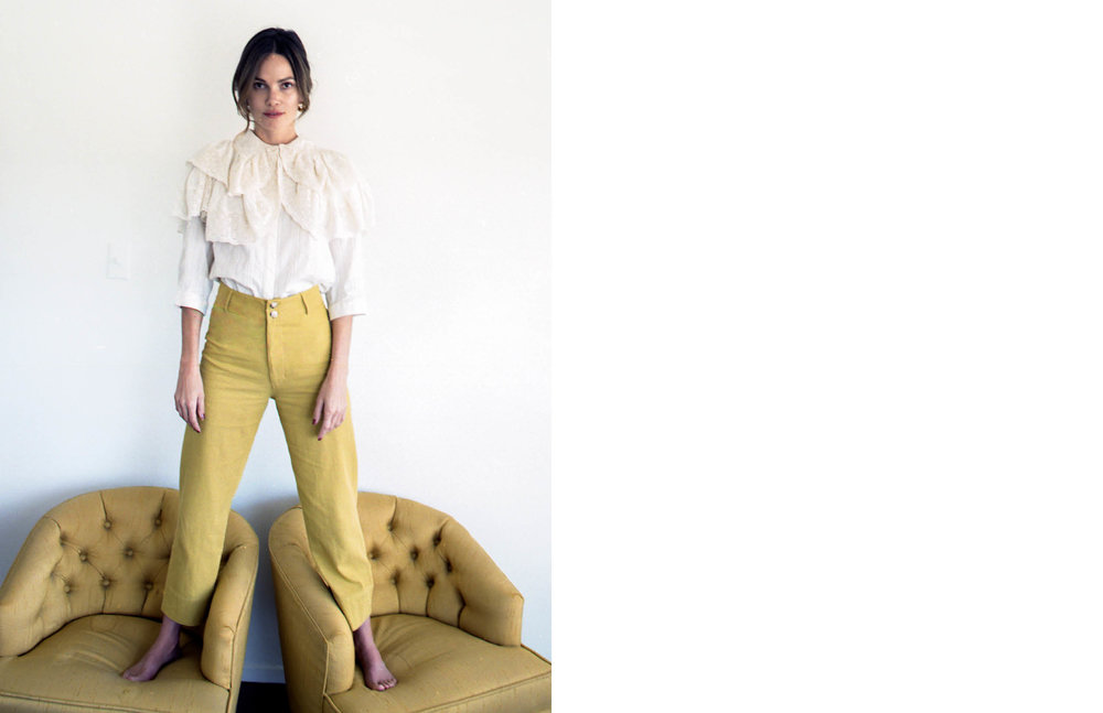 Maria Stanley Spring Luna Pant Campaign women's Los Angeles designer fashion
