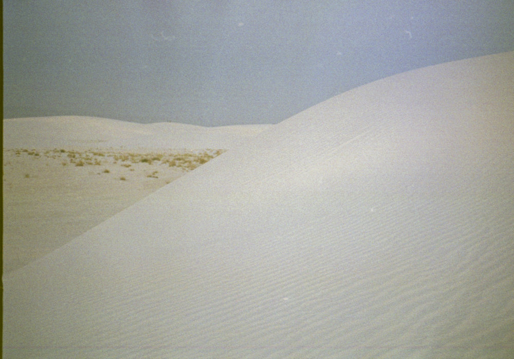 THE WHITE SANDS -