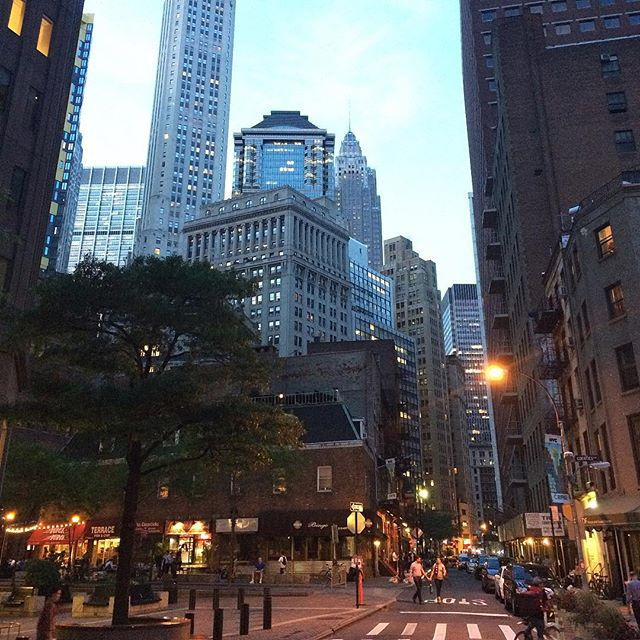 Financial District, #NYC #tbt