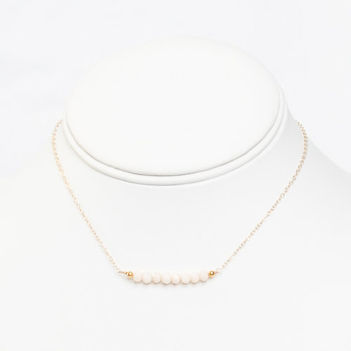 jewelry simple everyday necklace nebula gold products delicate