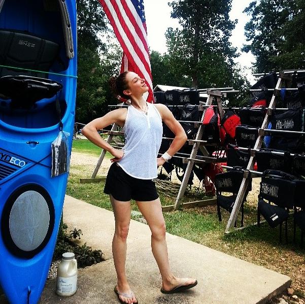 Kayak, conquered.