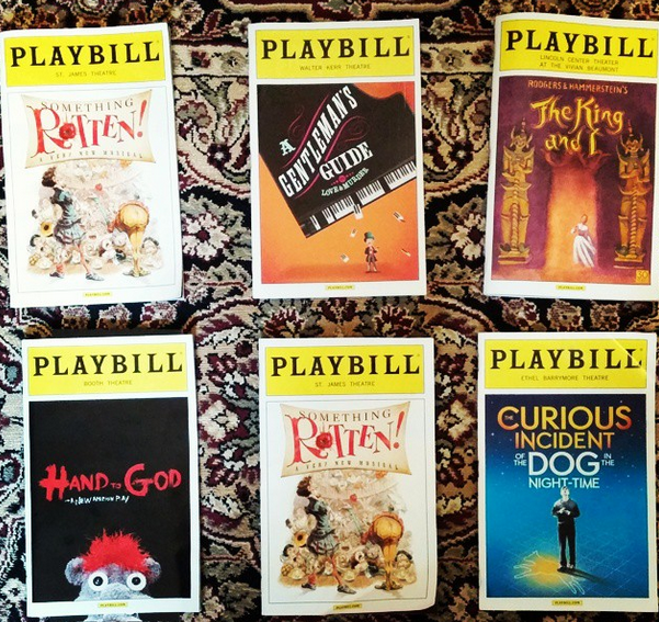 A playbill selection..