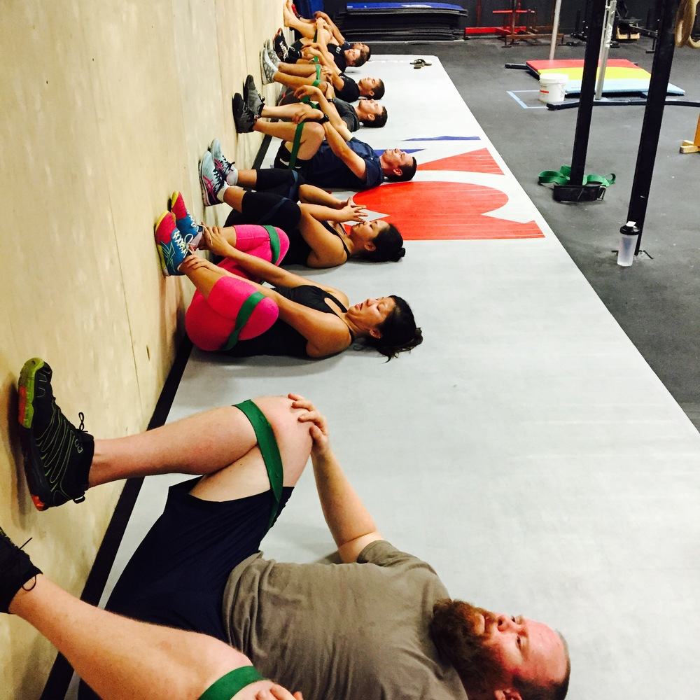 Dr. Karo's Mobility Class at NorCal Crossfit San Jose, every Wednesday at 5:30 and 7:30 pm