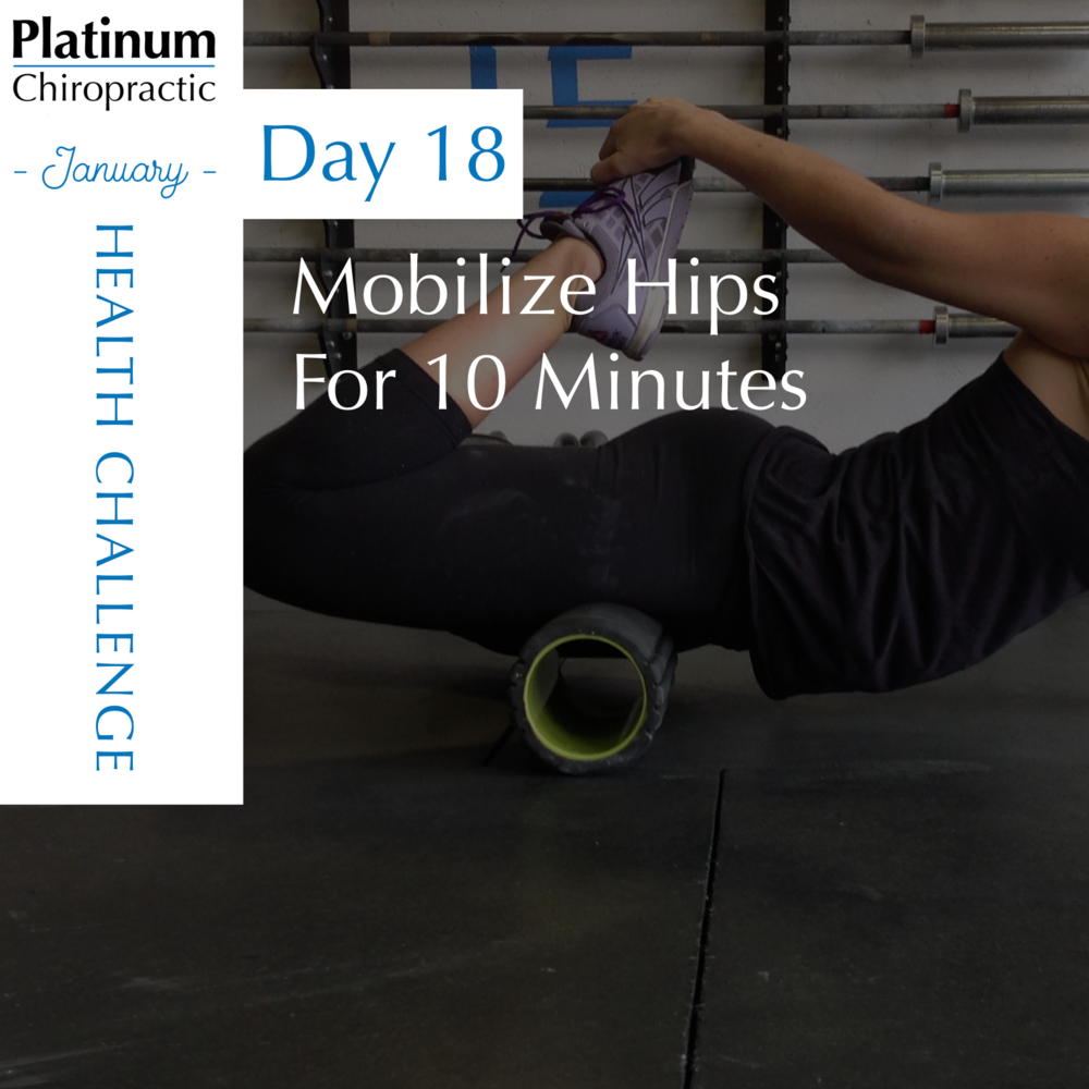Want to make progress with your mobility? 2 minutes each position, 5 times a day will get you results!