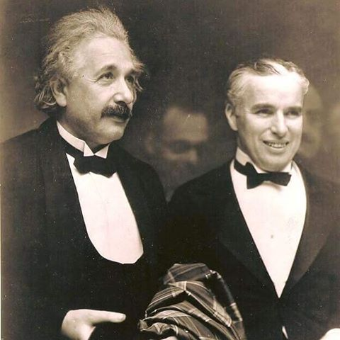 "Chaplin to Einstein; ""The people are applauding you because none of them understands you and applauding me because everybody understands me."" Greatness comes in many forms. #alberteinstein #charliechaplin #begreat #bebrilliant #pinkertonssc #becleanusesoap"