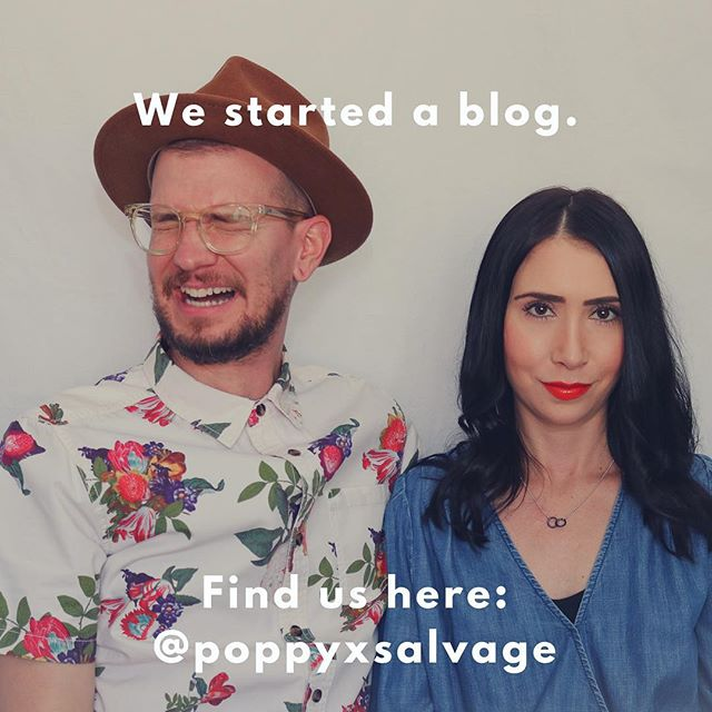 So it's been a bit since we've been able to make soap and as much as we love too we had to take a break from it. In the mean time, we decided to blog about our other passions such as slow fashion, food, travel, and heritage clothing and maintenance. Check us out @poppyxsalvage, it's the next chapter in trying to be better humans together!