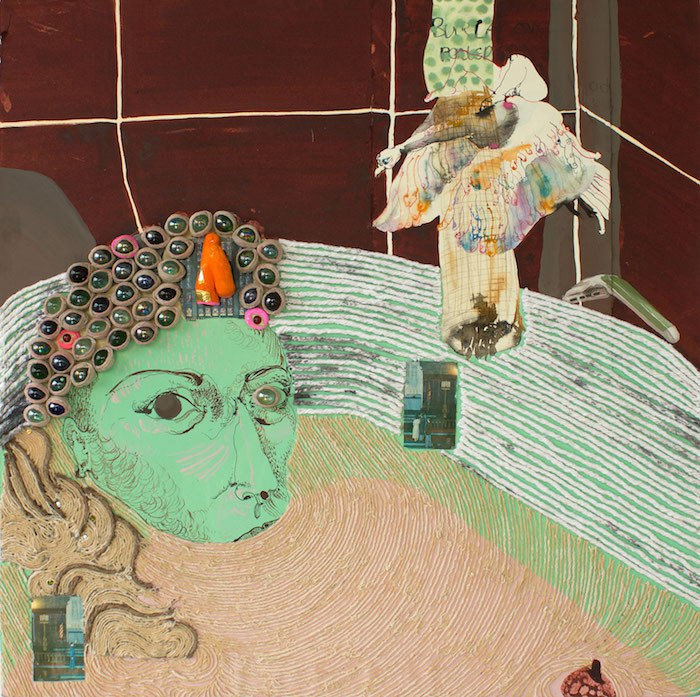 Sahana Ramakrishnan, Untitled (Self Portrait in a Bathtub), 2016. Courtesy of Sahana Ramakrishnan
