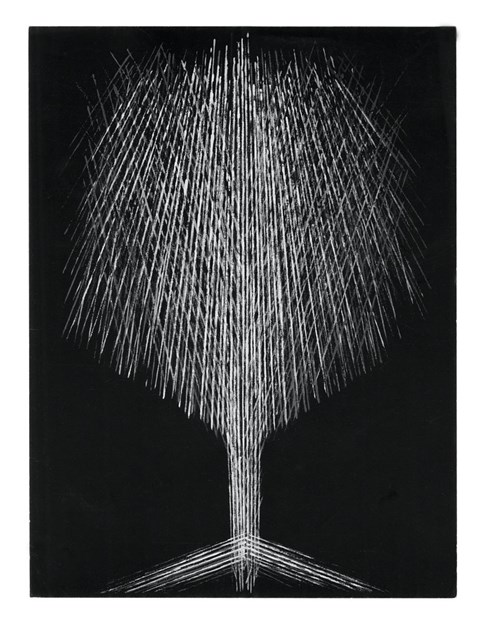 Herbert Bayer Untitled, (Christmas Tree), date unknown