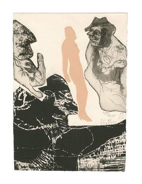 Luis Felipe Noé/Galeria Bonino, New York To Be Together, c. 1966 © 2016 Luis Felipe Noé, Tacuarí, Caba, Argentina