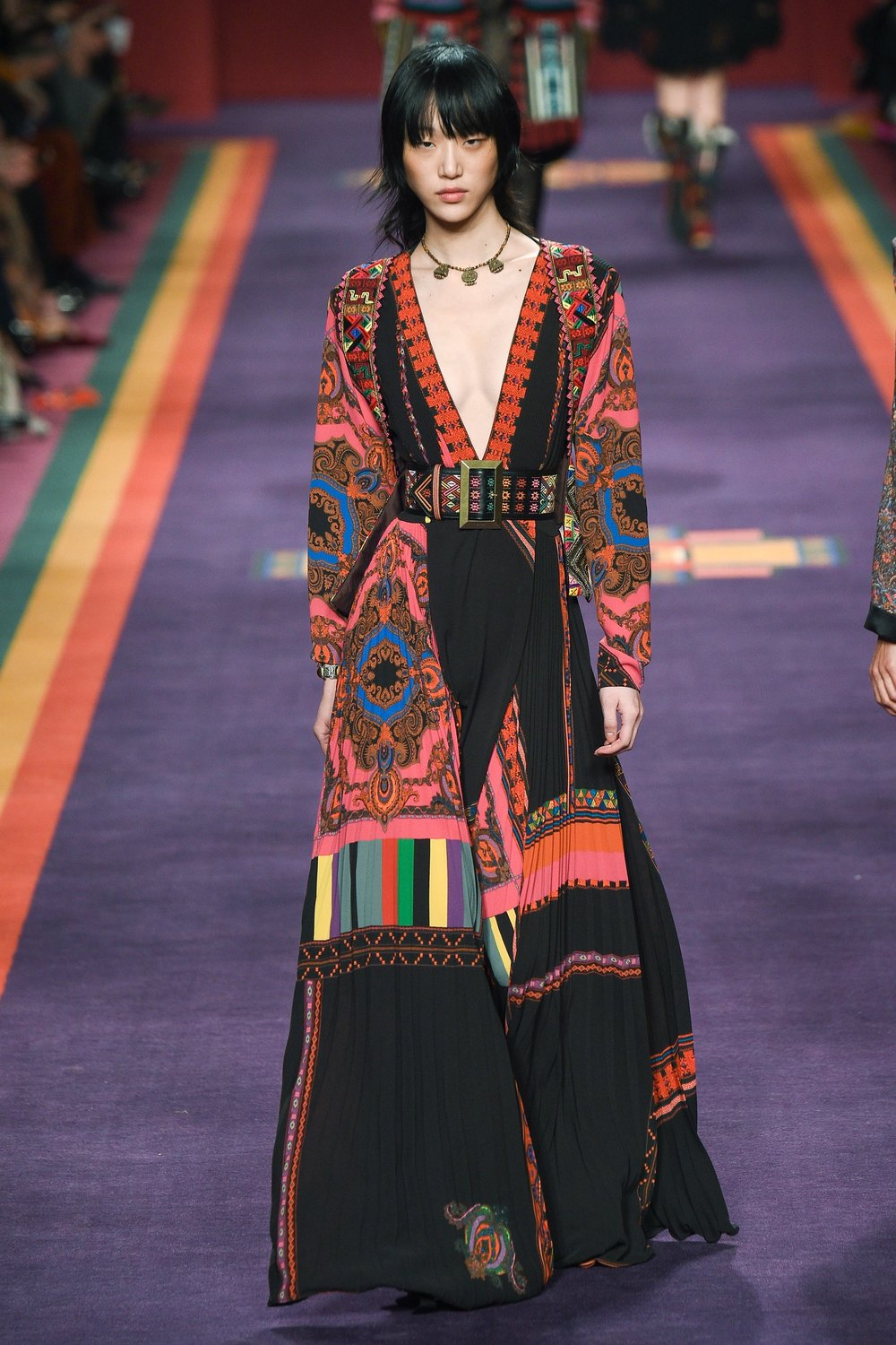 ETRO -  Bohemian Colour Blocking
