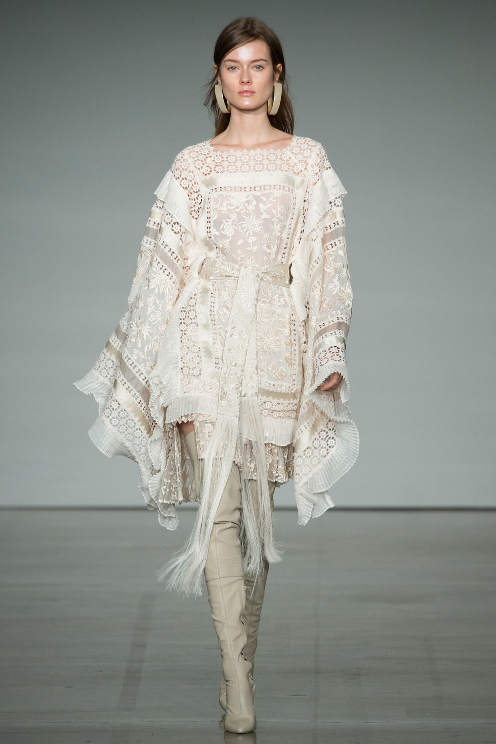ZIMMERMANN -  how fitting to finish with this piece of boho loveliness - fringe, lace, embroidery, pleats and those boots