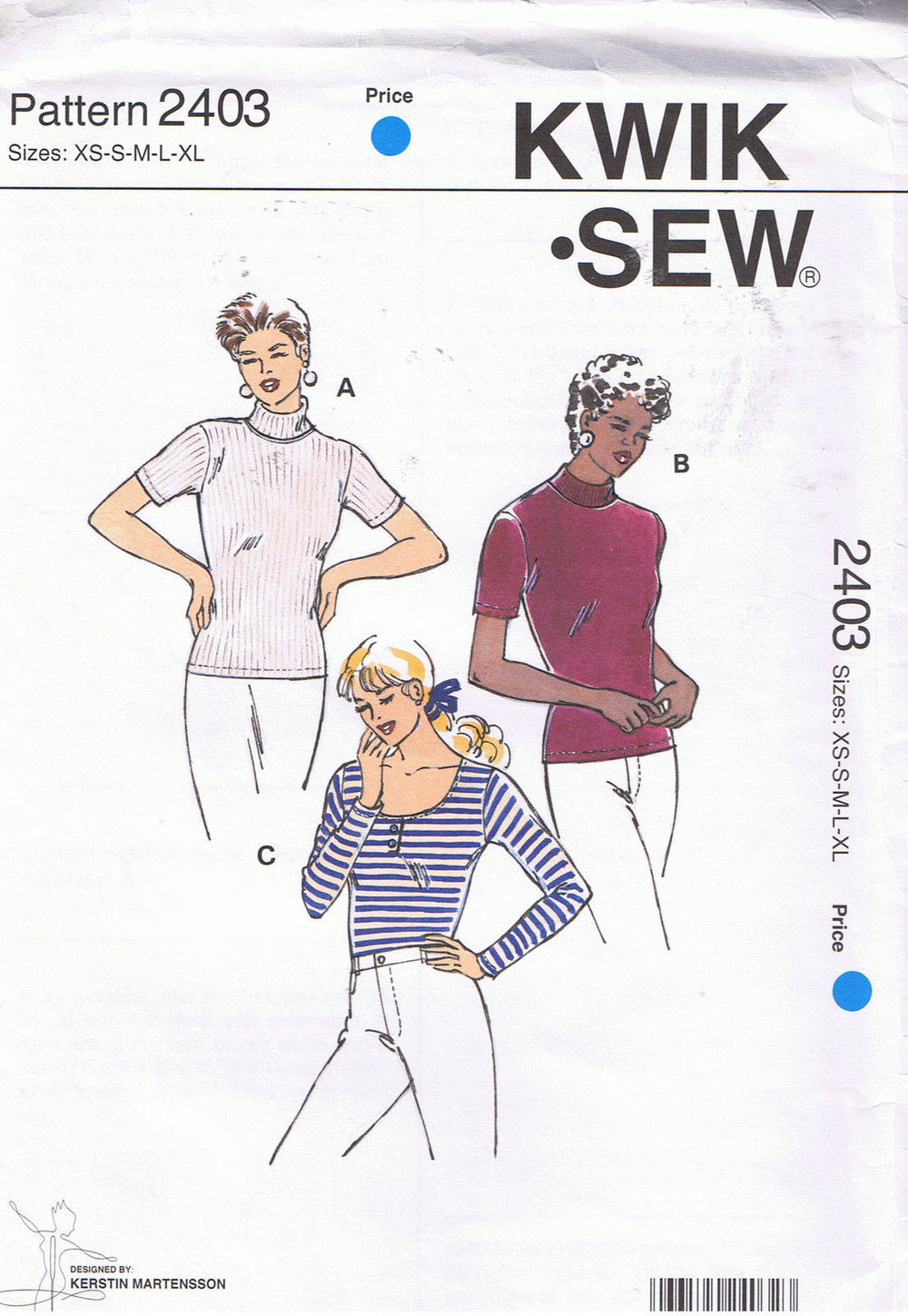 Salt & Stitch DIY T-shirt Kwik sew 2403