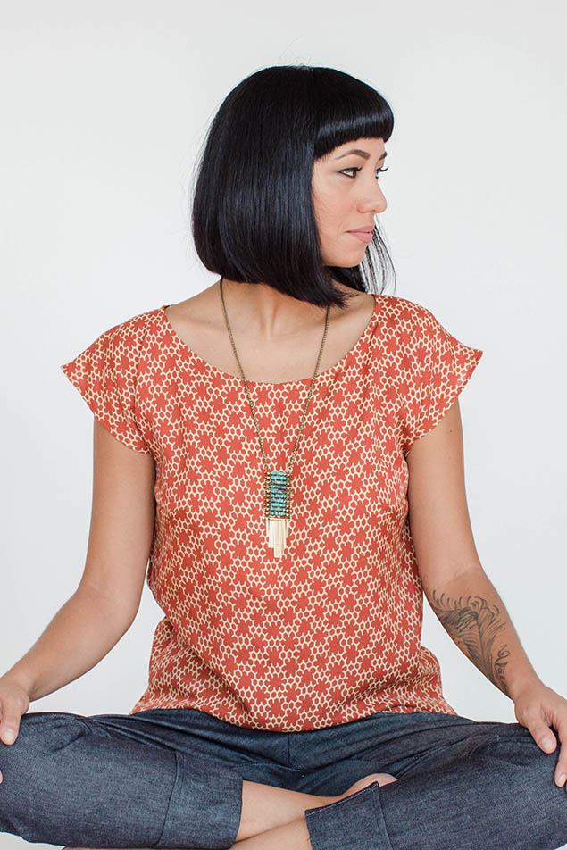 Akita Top by Seamwork Patterns