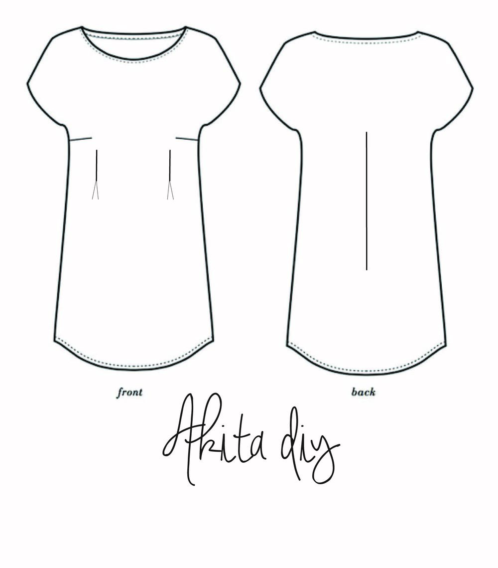Salt & Stitch Akita DIY by Seamwork Patterns