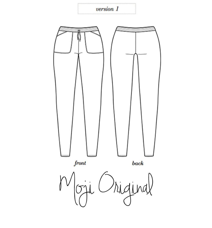 Salt & Stitch Seamwork Moji Shorts Pattern Hack