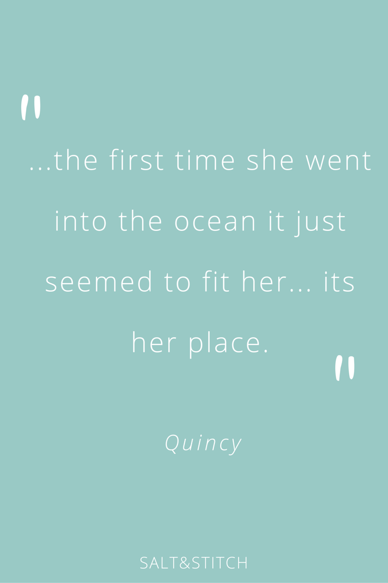 Quincy amazing surfer girl