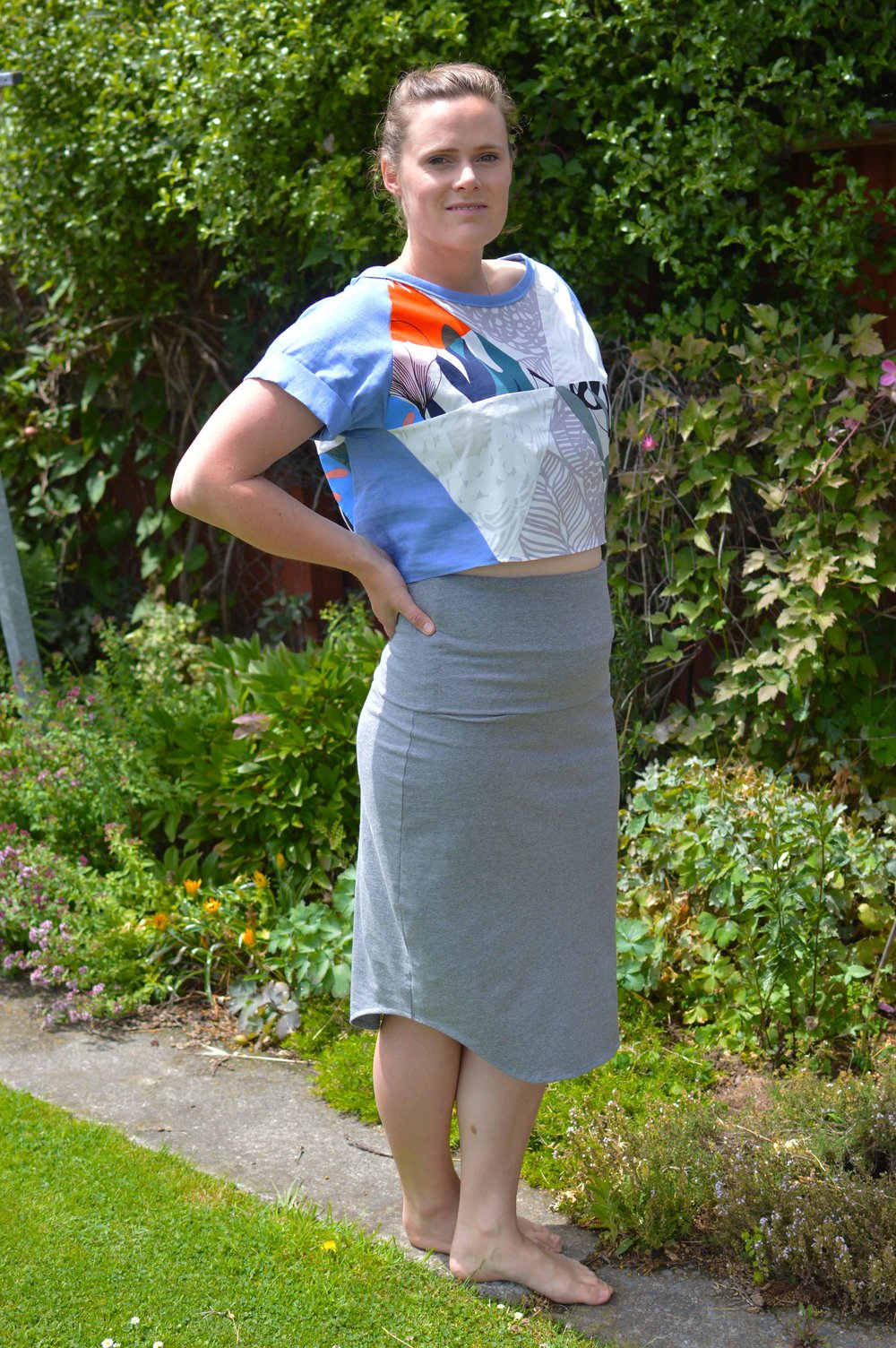 Sew Your Own Summer Capsule Wardrobe: Geodesic Top Pattern Hack (Blueprints for Sewing)