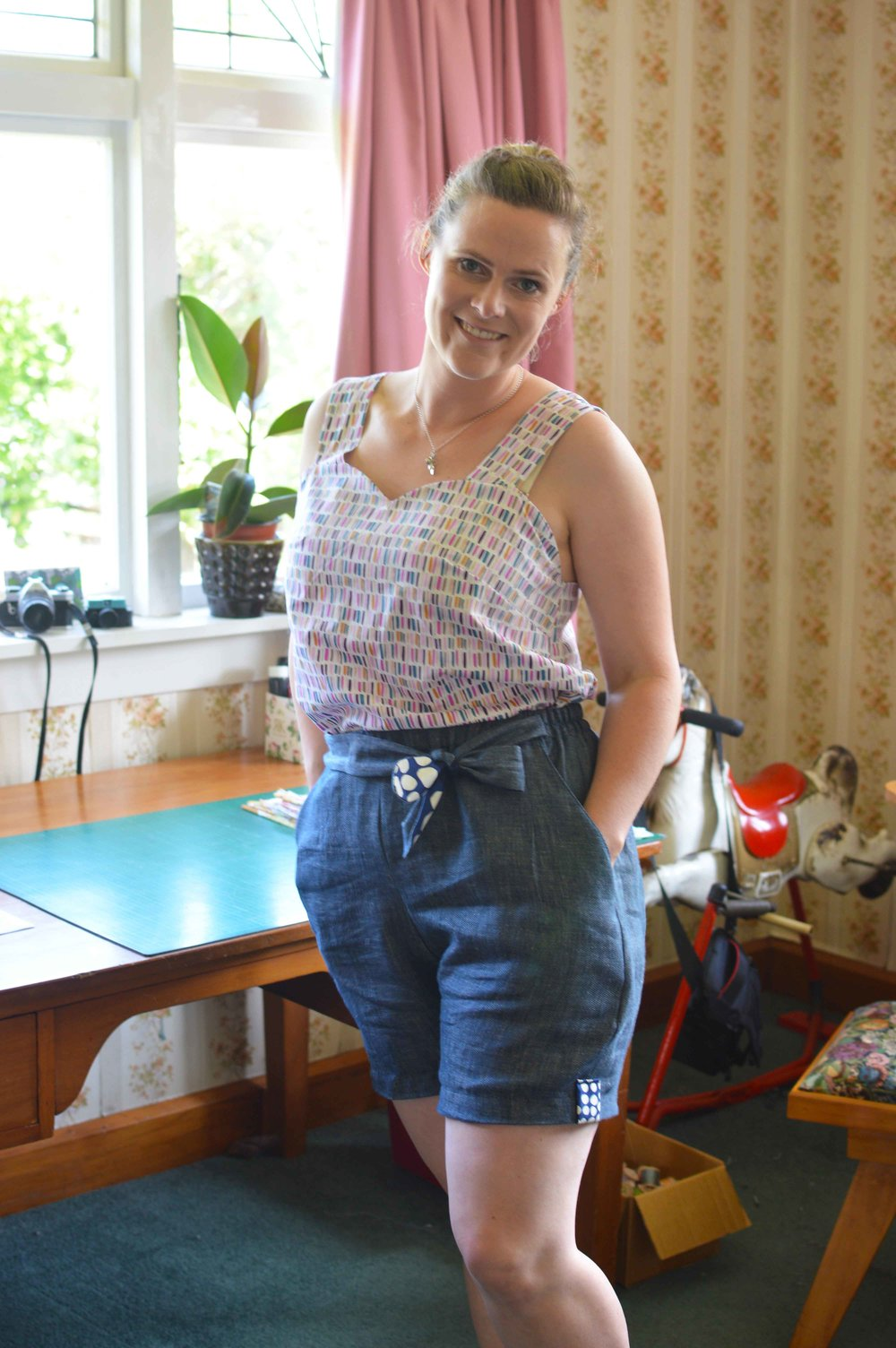 sew your own summer capsule wardrobe marigold jumpsuit pattern hack tilly and the buttons