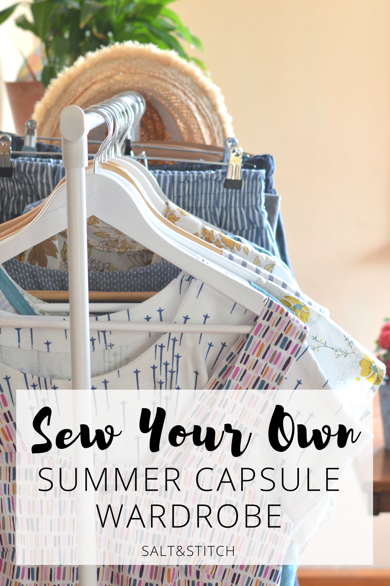 Sew Your Own Summer Capsule Wardrobe