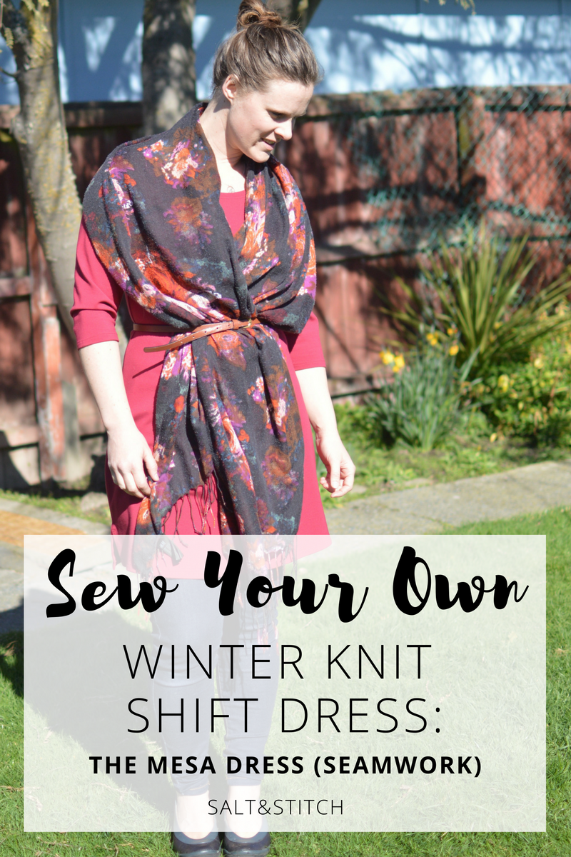 Sew your own winter shift dress mesa dress seamwork magazine