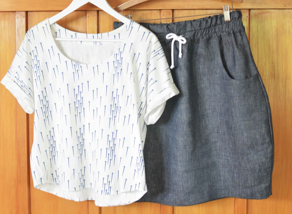 Sew Your Own Summer Capsule Wardrobe — Salt & Stitch