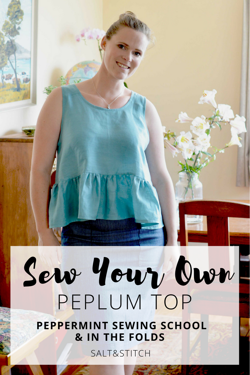 sew your own peplum top peppermint magazine and in the folds