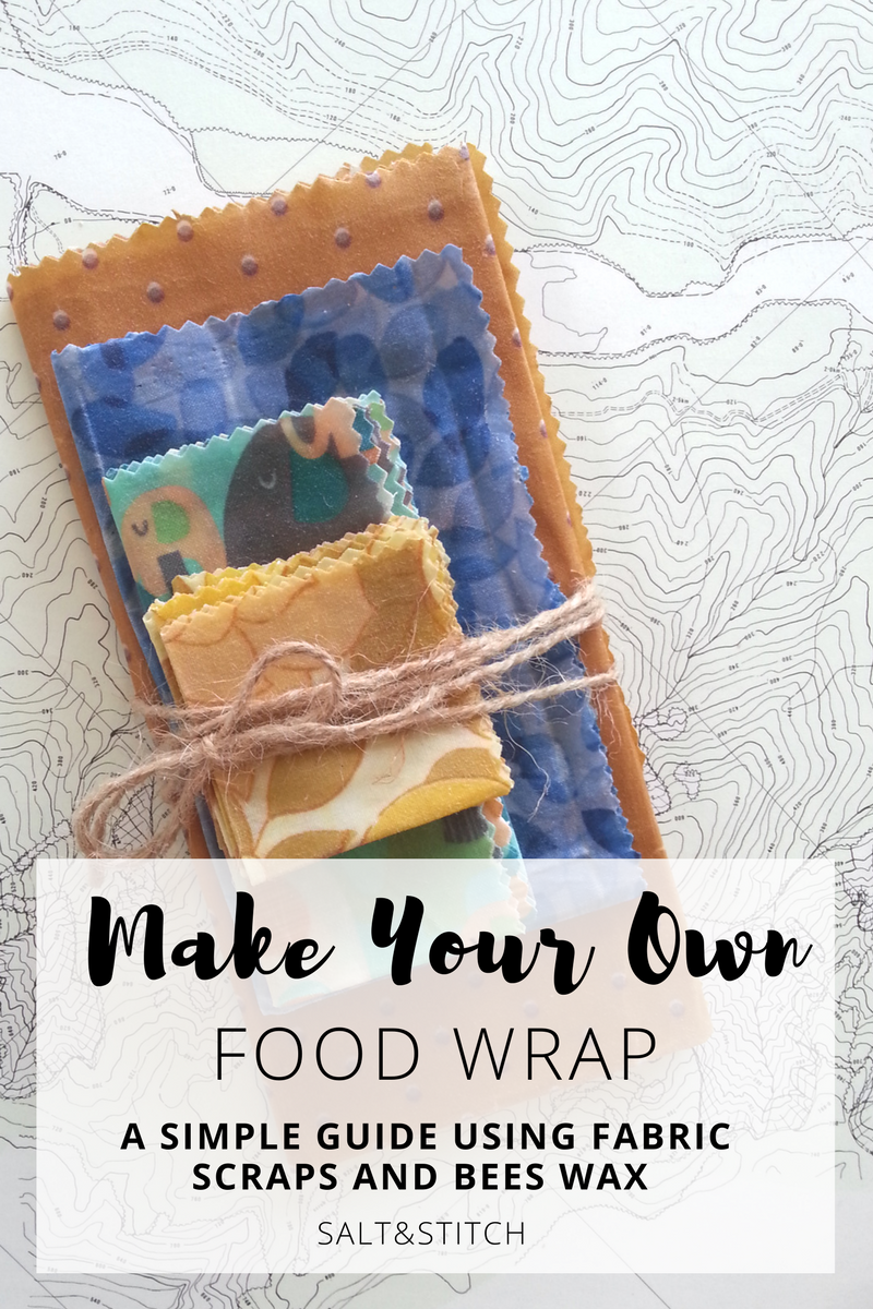 make your own bees wax food wrap a simple guide