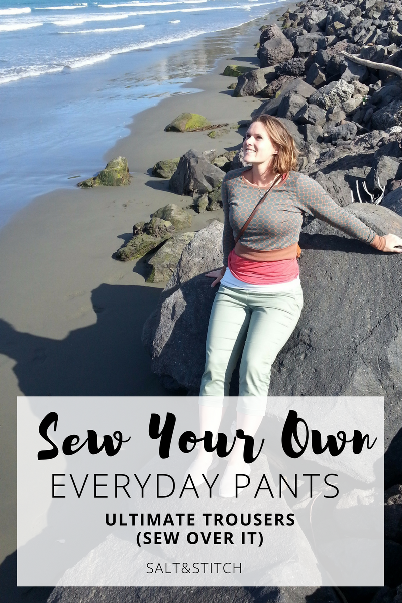 Sew your own everyday pants: ultimate trousers by sew over it
