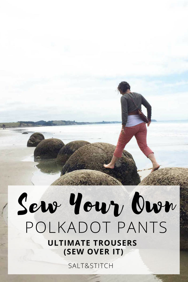 sew your own polkadot pants: ultimate pants by sew over it)