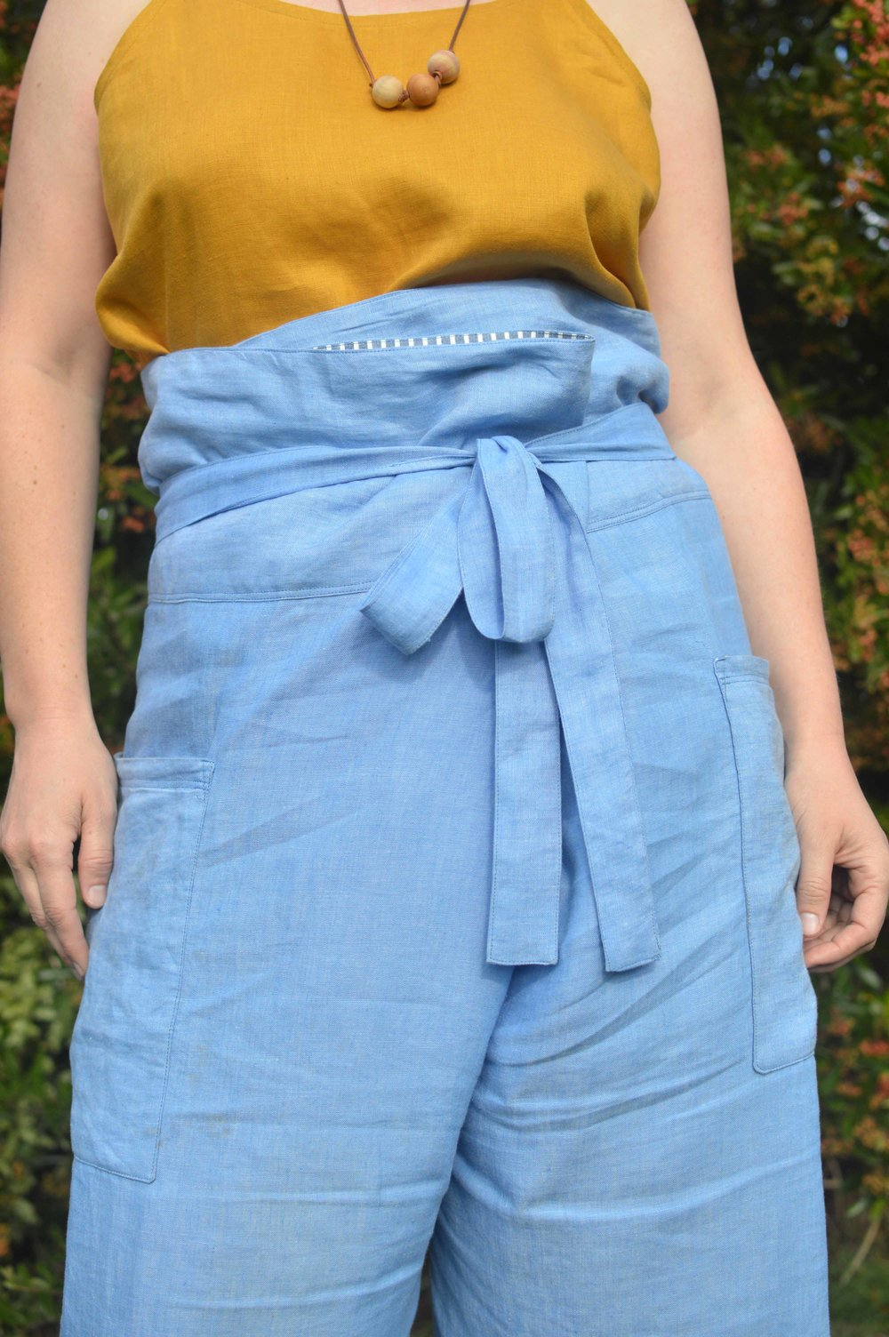 Sew Your Own Summer Nehalem Fisherman Pants + Catarina Cami