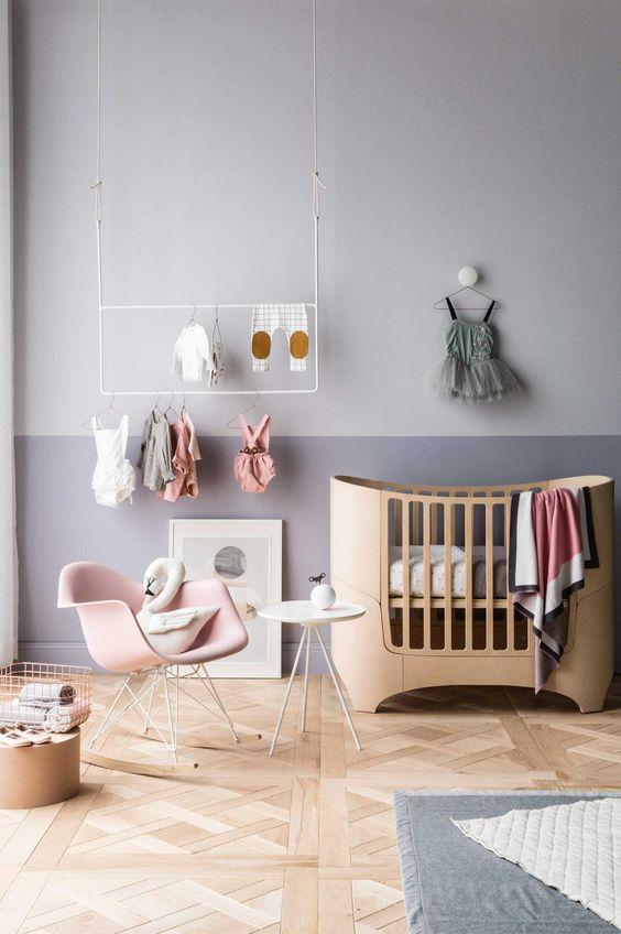 004 une chambre pour l 39 arriv e du futur baby mumday mornings - Muur kleur babykamer meisje ...