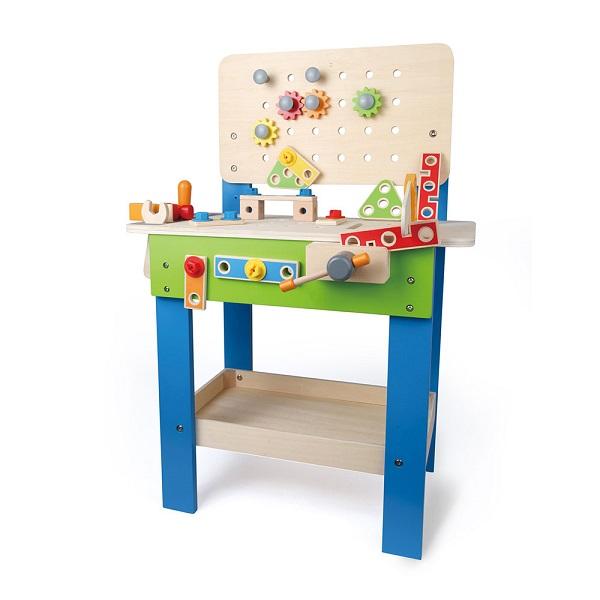 5b9cea846c40 1 - LA MAISON DE POUPÉES CUBIC HOUSE de Djeco est la première maison de  poupées en bois à l architecture très moderne. Les meubles et poupées sont  à choisir ...
