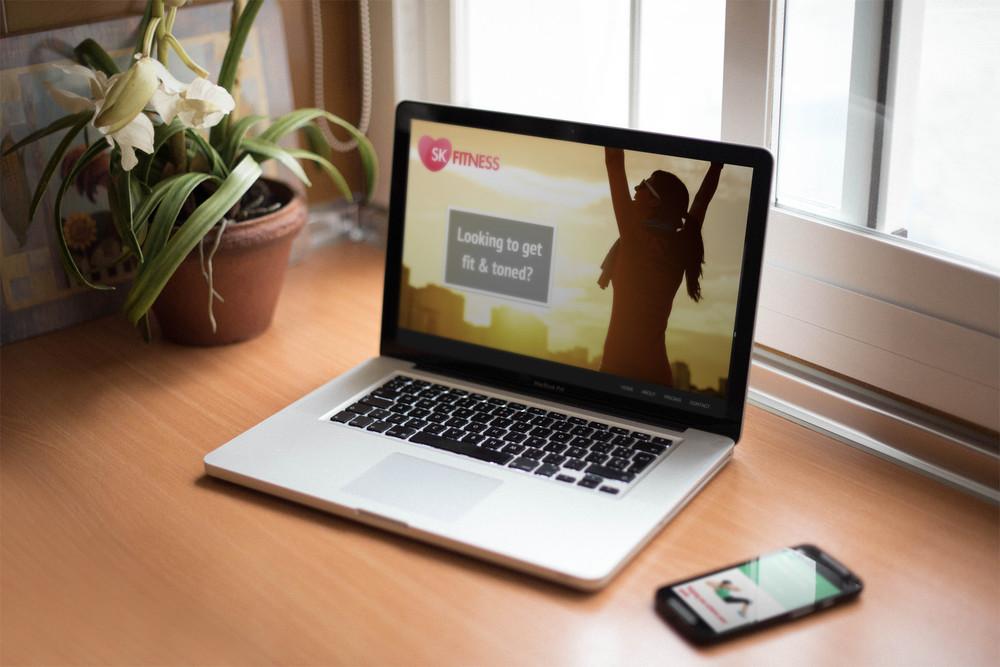 skfitness.co.uk - Brand/ Web Design / Print