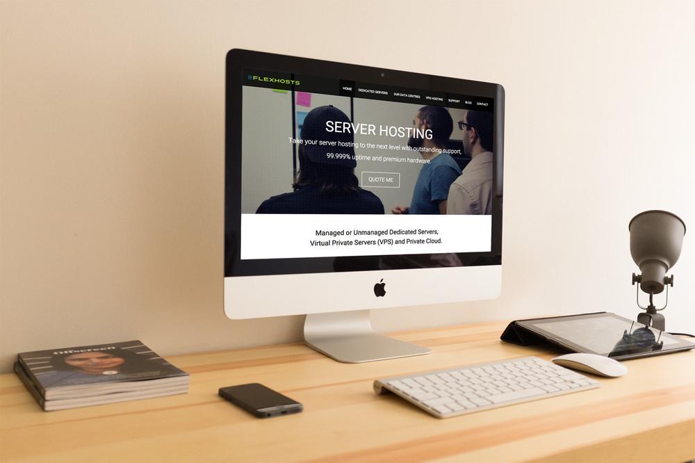 flexhosts.com  - Web Design / Development