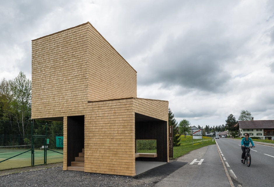 Rintala Eggertsson Architects: Traditional materials and building techiques which serves two functions.  (Yuri Palmin/Facebook)