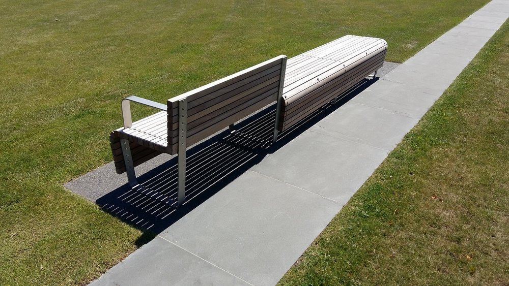 Simple multi purpose Avon River Suite seating modified to suit the site